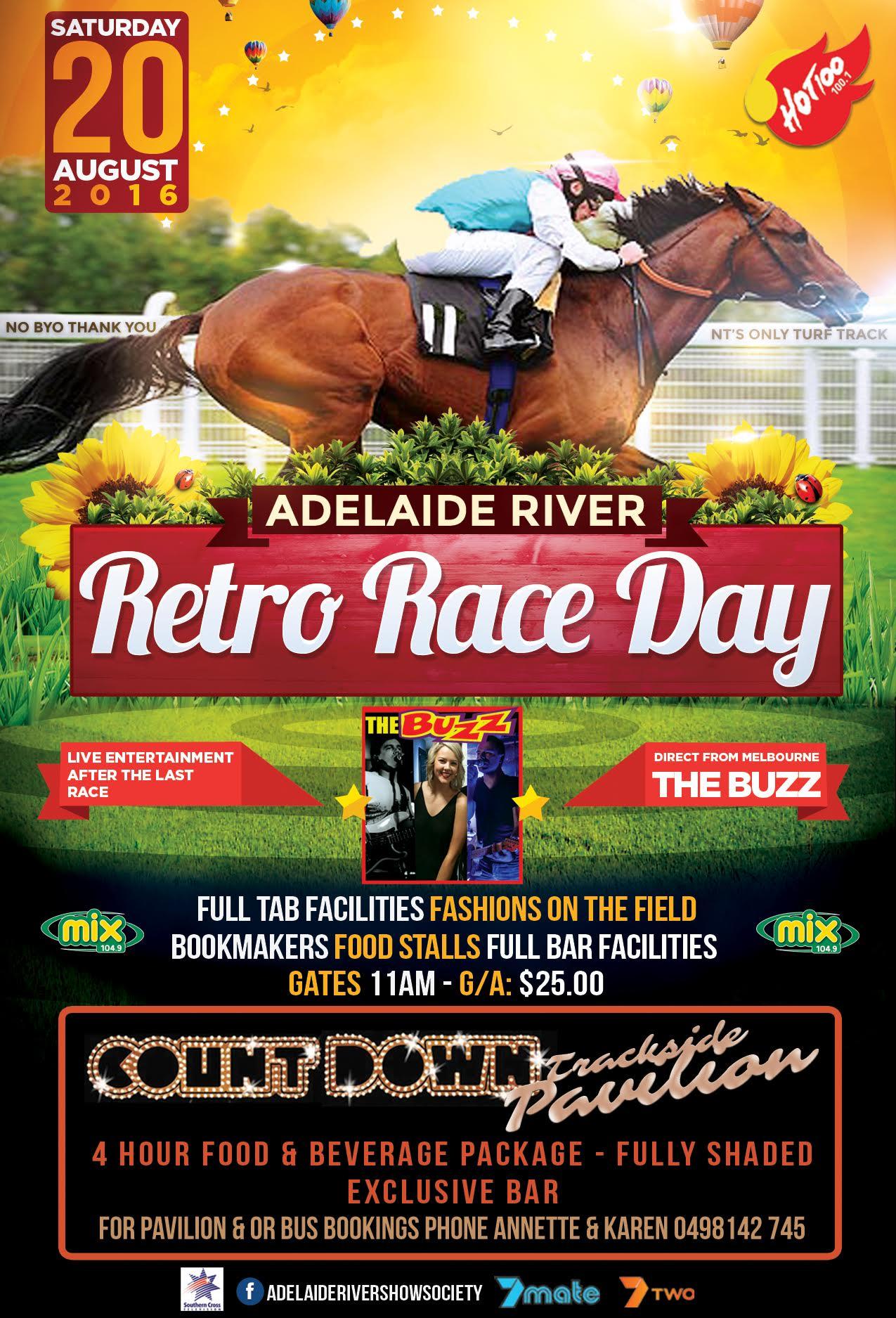 Retro Rce Day Poster